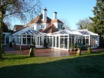 Completed large conservatory -