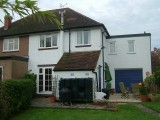 Property A Completed rear view -