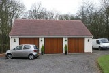Completed Garage Block -