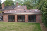 Completed pool room, games room, external -