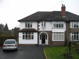 Property A - Completed front elevation - Two storey side and rear extension -