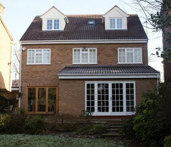 Completed single storey extension and loft conversion - plans by Easyplan