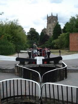 Kidderminster town in Worcestershire